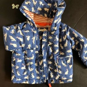 Mini Boden Bunny coat